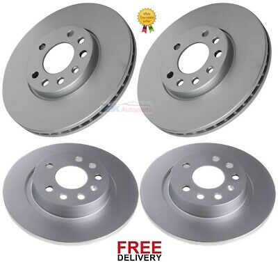 VAUXHALL VECTRA C 1.8 2.0 2.2 2002-2009 FRONT 2 BRAKE DISCS /& PADS CHECK SIZE