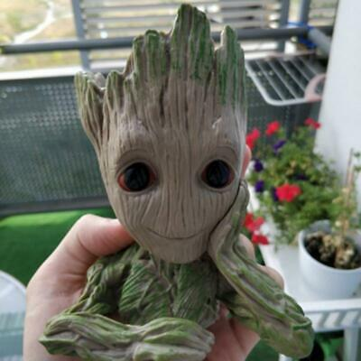 Creative Baby Groot Planter tree Man Pens Flower Pot Toy Guardians of The Galaxy