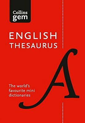 Collins English Gem Thesaurus: The world's favourite mini the New Paperback Book