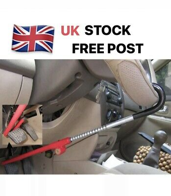 Heavy Duty Anti Theft Car Steering Wheel Lock Car Van Security Pedal Clutch Lock