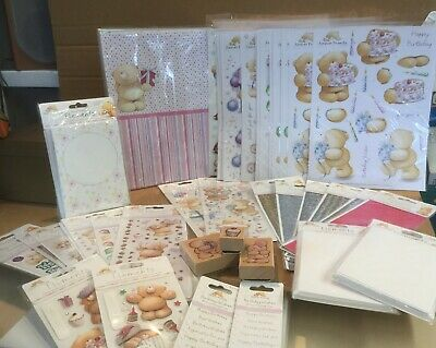 Forever Friends Card Making Assortment Pack With 76 Items