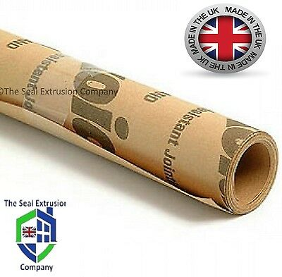 GASKET PAPER MATERIAL 2.5mtr LONG X 500mm WIDE X 0.80mm THICK - OIL & WATER SEAL