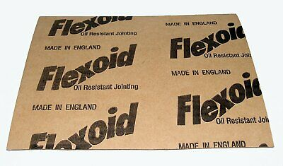 GASKET PAPER MATERIAL - FLEXOID - OIL & WATER RESISTANT - 0.8mm A4 Sheet