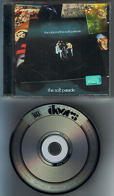 The DOORS - The Soft Parade -  LASER-ETCHED CD - UNIQUE , RARE