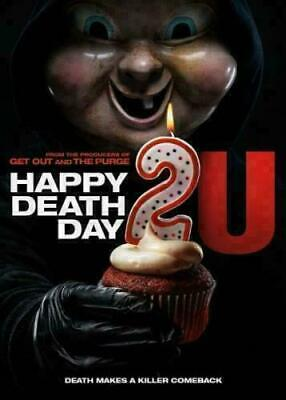 Happy Death Day 2u DVD. New and sealed. Free delivery.
