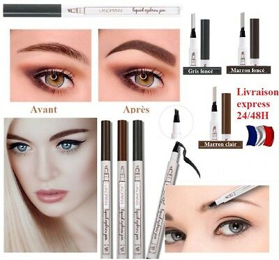 Crayon tatouage Sourcils 3 Micro-Précision Microblading Tattoo stylo make up