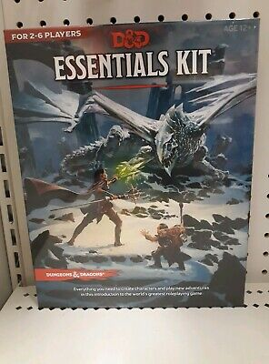 Dungeons and Dragons D&D 5E ESSENTIALS KIT Target Exclusive 5th Edition IN HAND