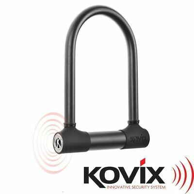 KOVIX KTL16210 210mm 120db ALARMED VERSATILE MOTORCYCLE QUAD ATV MX U-LOCK