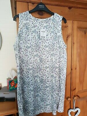 Bnwt Beautiful Next Floral Tunic Style Top Size 20