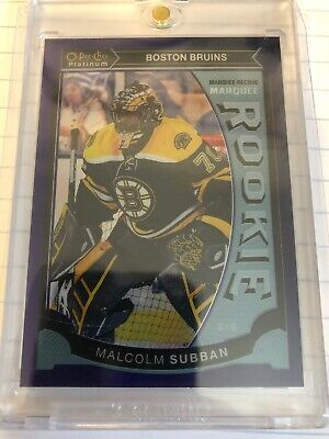 2015-2016 Opc Platinum Marquee Rookie Malcolm Subban Purple 01/25! 1/1