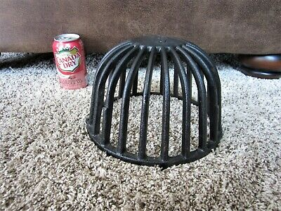 Industrial Cast Iron Explosion Proof Light Fixture? Cage Sewer Filter Dome Bowl?