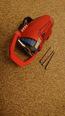 Amazing Spiderman wrist Web Shooter with bullets VGC