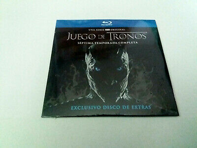 "Blu-Ray ""Juego De Tronos Septima Temporada Disco Exclusivo Fnac"" Precintado Seal"