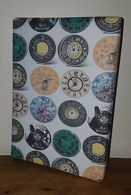 ALICE IN WONDERLAND Wrapping Paper Size A1//A2//A3 Mad Hatter White Rabbit