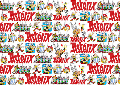 The Adventures of ASTERIX Wrapping Paper, french-belgian Comic, gaul, magazine