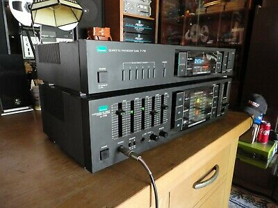 Sansui Quartz PLL Synthesizer Tuner T-710 Tested/Working