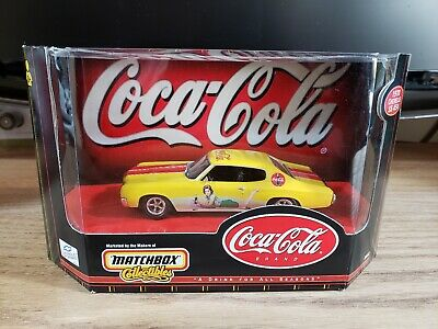 Matchbox Collectibles Coca-Cola 1970 Chevelle SS 454 Diecast