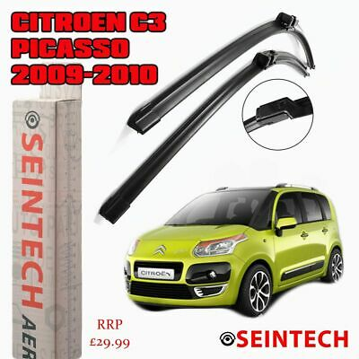 """Specific Fit Front Windscreen Wiper Blades 24""""16"""" For Citroen C3 Picasso 09-10"""