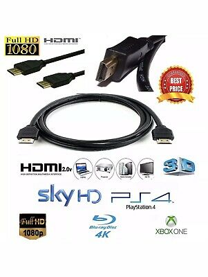2M  Premium Standard HDMI cable v2.0 high speed 4k ULTRAHD 2160p lead - NEW
