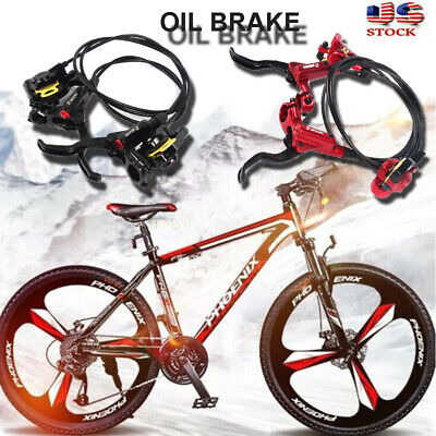 RACEWORK Disc Brake Calipers MTB Speed Clip Dual Piston Mechanical W//Rotor Kit