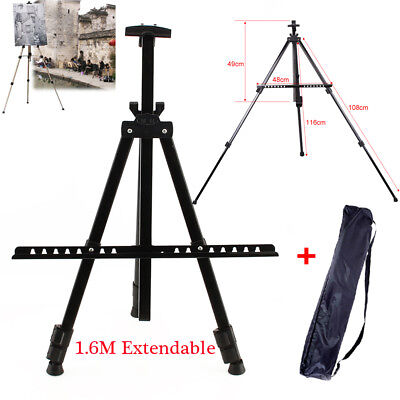 Telescopic Foldable Student Artist Painting Easel Tripod Display Stand+Carry Bag