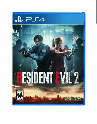 RESIDENT EVIL 2 2019 PS4 Game Sony PlayStation 4 RE2 Capcom #1814