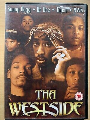 The Westside DVD West Coast Rap Documentary w/ Ice Cube Dr Dre Snoop Dogg Tupac