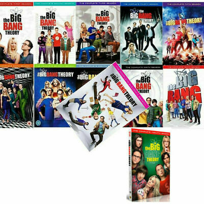 THE BIG BANG THEORY: Complete Series Seasons 1-12 DVD BRAND NEW FREE SHIPPING