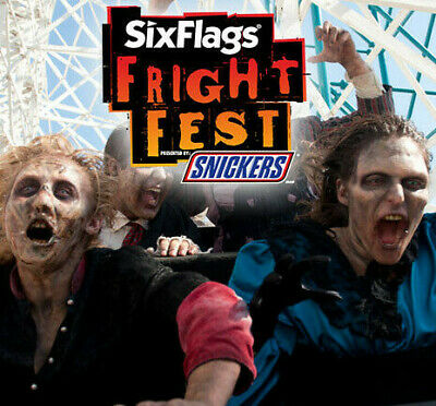 Six Flags Fiesta Texas Fright Fest Tickets $36 A Promo Discount Tool