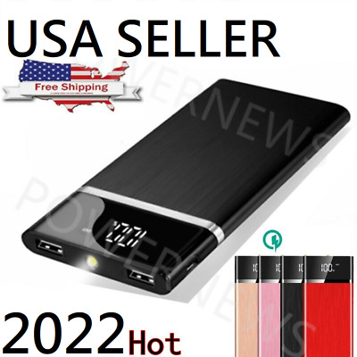 2019 New Portable External Battery Huge Capacity Power Bank 900000mAh Charger