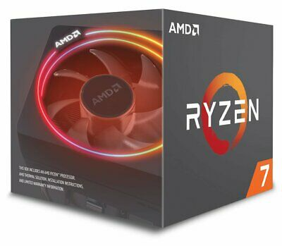 AMD 2700X Ryzen 7 3.7 GHz- 4.3ghz 8-Core Processor, save w/ code PAPER