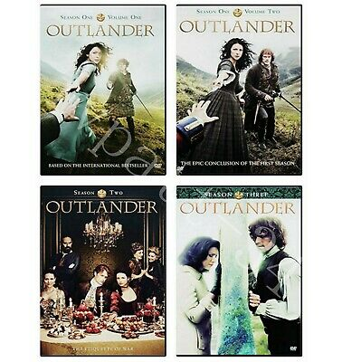 Outlander The Complete Series Season 1-4  DVD, 2019, 17-Disc New Factory Seald