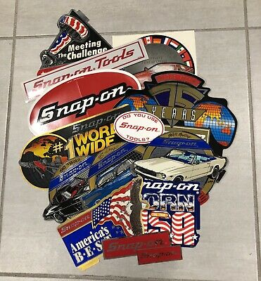 Snap On Sticker Bundle