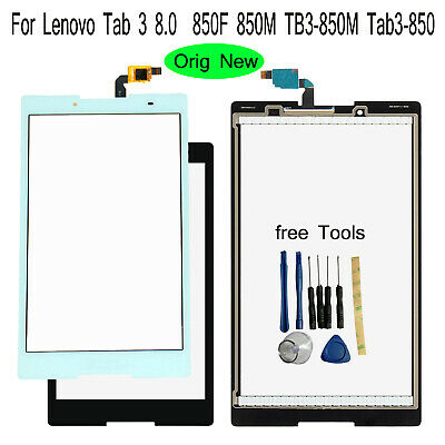 For Lenovo Tab 3 8.0  850F 850M TB3-850M Tab3-850 Outer Front Glass Touch Screen