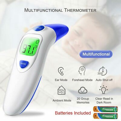 Digital LCD Infrared Forehead and Ear Thermometer for Children And Adults