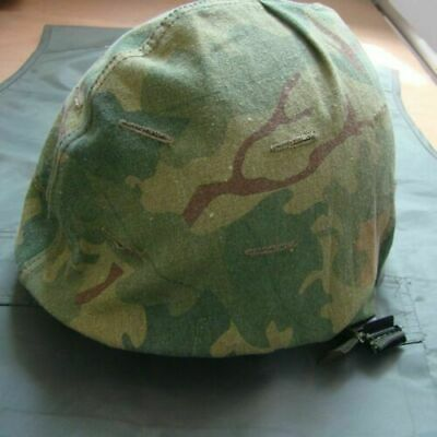 Reproduction Vietnam War Us Army M1 Helmet Cover Mitchell Reversible Splinter