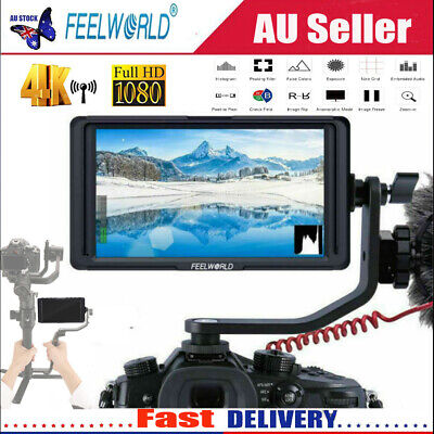 """Feelword F6S HDMI 5"""" IPS Screen 1920*1080 4K FHD Camera Monitor for DSLR Cameras"""