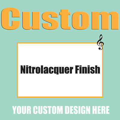 The Extra Fee for The Nitrolacquer Finish of The Electric Guitar Bass Guitars