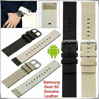 Pebble Mens Ladies Genuine Leather Watch Replacement Strap Band 14mm 20mm 22mm