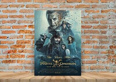 PIRATES OF THE CARIBBEAN AT WORLD/'S END  MOVIE POSTER FILM A4 A3 PRINT CINEMA
