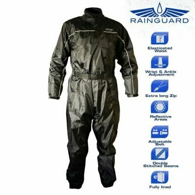 Rainguard One Piece Waterproof Motorcycle Oversuit Size Large