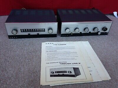 LEAK Troughline 3 Tuner and Stereo 30 With Manuals - Working Order (Read Fault)