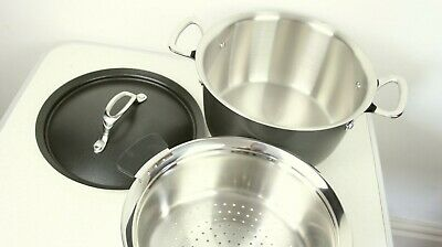 NEW Tefal Experience the Enhancer Stockpot 24cm with Steamer Basket RRP £120+