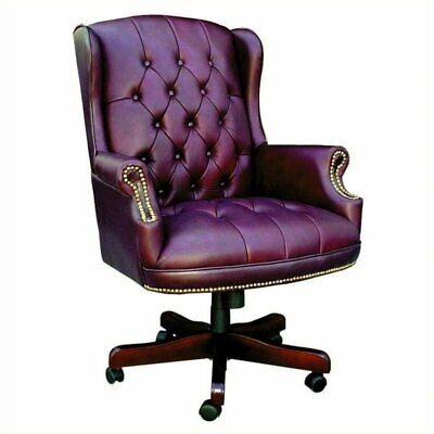 Boss Office Products Traditional Series Office Chair-Black Caressoft
