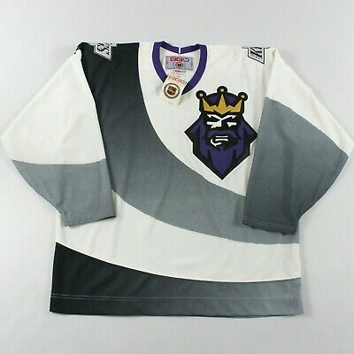 detailing 9199e 315cf AUTHENTIC LOS ANGELES Kings XL Jersey Burger King 1995-96 CCM Gretzky NWT