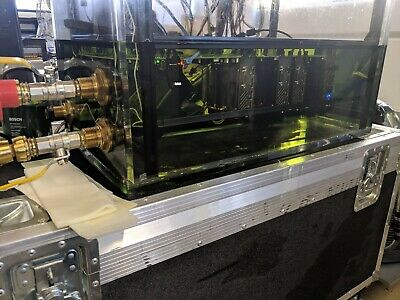 Dielectric Fluid FPGA/GPU liquid immersion Tank