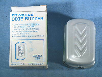 Vintage EDWARDS DIXIE Buzzer #725 NOS in Box Made in USA