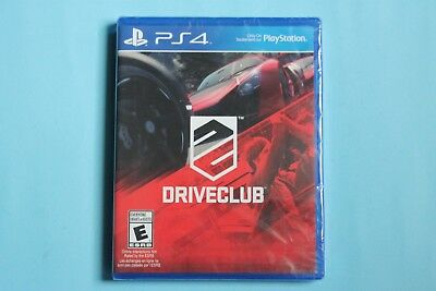 Driveclub Sony PlayStation 4, 2014 BRAND NEW