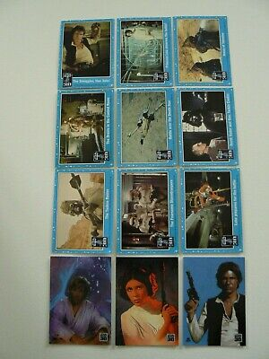 TOPPS STAR WARS 30th ANNIVERSARY 9 CARD MAGNET SET PLUS BLISTER SET