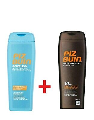 Piz Buin After Sun Tan Intensifying Moisturising Lotion +Sun Protect SPF10 200ml